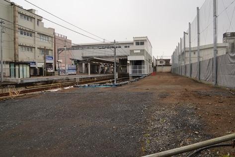 6月に津田山駅自由通路と南口側の仮設通路の使用開始