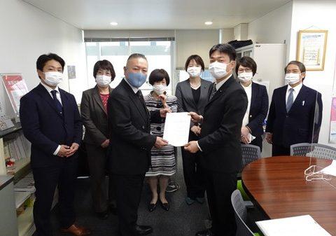 県議団が新型コロナ感染拡大「第3波」対策の緊急申し入れ(第9次)