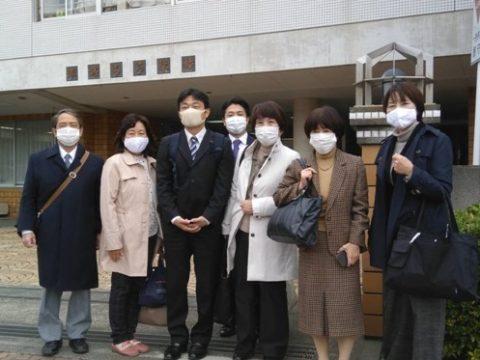 県立平塚ろう学校を訪問しました