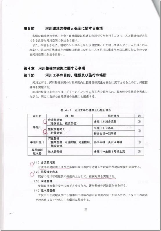 素案ページ20第5節、第4章