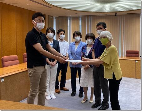 県保育問題協議会がキッズゾーンの整備を県に要望