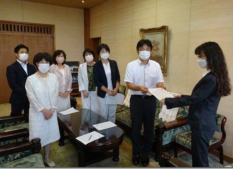 政府に対して、緊急事態宣言の発出要請と一体に、東京2020オリンピック・パラリンピックの中止を求める要請(7/29)
